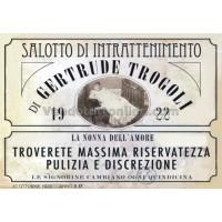 STAMPA VINTAGE CASE DI TOLLERANZA GERTRUDE TROGOLI