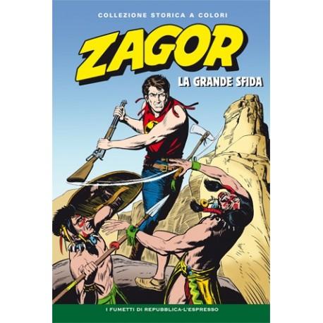 """ZAGOR COLLEZIONE STORICA A COLORI """"LA GRANDE SFIDA"""" EP. 42"""