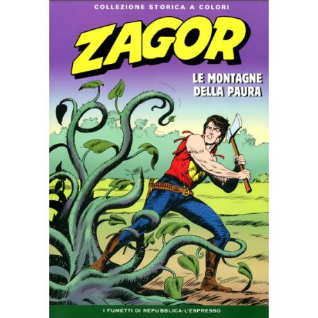 """ZAGOR COLLEZIONE STORICA A COLORI """"LE MONTAGNE DELLA PAURA"""" EP. 58"""