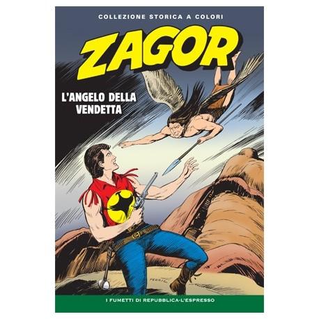 """ZAGOR COLLEZIONE STORICA A COLORI """"L'ANGELO DELLA VENDETTA"""" EP. 66"""