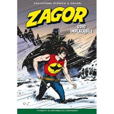 """ZAGOR COLLEZIONE STORICA A COLORI """"ODIO IMPLACABILE"""" EP. 77"""