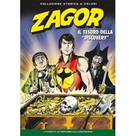 """ZAGOR COLLEZIONE STORICA A COLORI """"IL TESORO DELLA DISCOVERYA"""" EP. 78"""
