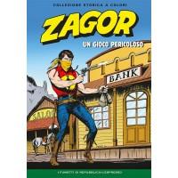 """ZAGOR COLLEZIONE STORICA A COLORI """"UN GIOCO PERICOLOSO"""" EP. 85"""
