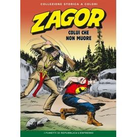 """ZAGOR COLLEZIONE STORICA A COLORI """"COLUI CHE NON MUORE"""" EP. 87"""
