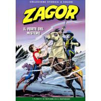 """ZAGOR COLLEZIONE STORICA A COLORI """"IL FORTE DEL MISTERO"""" EP. 92"""