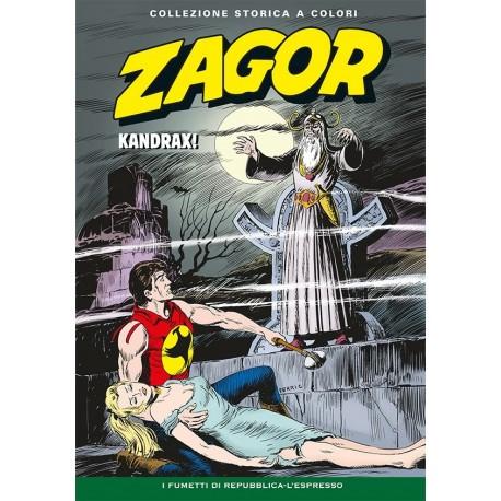 """ZAGOR COLLEZIONE STORICA A COLORI """"KANDRAX!"""" EP. 96"""