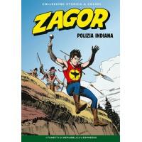 """ZAGOR COLLEZIONE STORICA A COLORI """"POLIZIA INDIANA"""" EP. 98"""