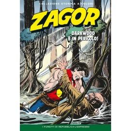 """ZAGOR COLLEZIONE STORICA A COLORI """"DARKWOOD E' IN PERICOLO!"""" EP. 99"""