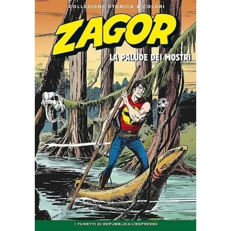 """ZAGOR COLLEZIONE STORICA A COLORI """"LA PALUDE DEI MOSTRI"""" EP. 112"""