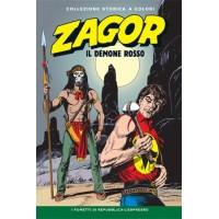 """ZAGOR COLLEZIONE STORICA A COLORI """"IL DEMONE ROSSO"""" EP. 115"""