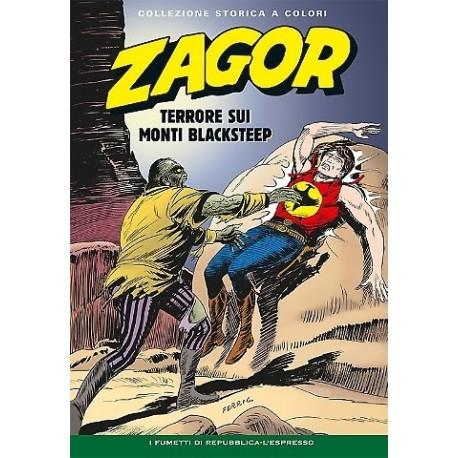 """ZAGOR COLLEZIONE STORICA A COLORI """"TERRORE SUI MONTI BLACKSTEEP"""" EP. 119"""