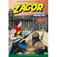 """ZAGOR COLLEZIONE STORICA A COLORI """"ASSEDIO AL TRADING POST"""" EP. 120"""