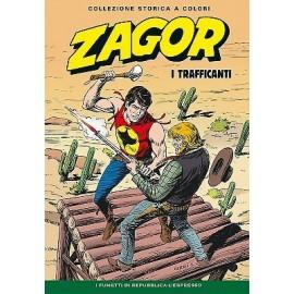 """ZAGOR COLLEZIONE STORICA A COLORI """"I TRAFFICANTI"""" EP. 123"""