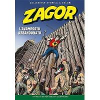 """ZAGOR COLLEZIONE STORICA A COLORI """"L'AVAMPOSTO ABBANDONATO"""" EP. 127"""