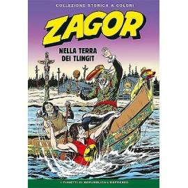 """ZAGOR COLLEZIONE STORICA A COLORI """"NELLA TERRA DEI TLINGIT"""" EP. 133"""
