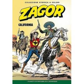 """ZAGOR COLLEZIONE STORICA A COLORI """"CALIFORNIA"""" EP. 134"""