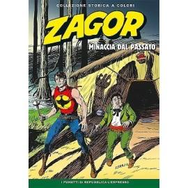 """ZAGOR COLLEZIONE STORICA A COLORI """"MINACCIA DAL PASSATO"""" EP. 142"""