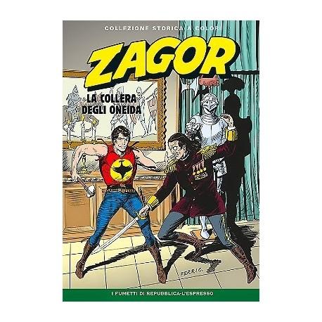 """ZAGOR COLLEZIONE STORICA A COLORI """"LA COLLERA DEGLI ONEIDA"""" EP. 145"""