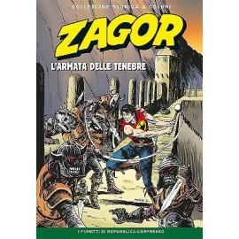 """ZAGOR COLLEZIONE STORICA A COLORI """"L'ARMATA DELLE TENEBRE"""" EP. 159"""