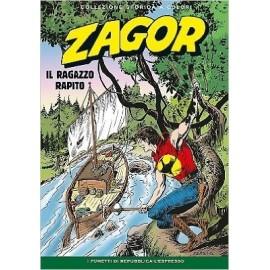 """ZAGOR COLLEZIONE STORICA A COLORI """"IL RAGAZZO RAPITO"""" EP. 183"""