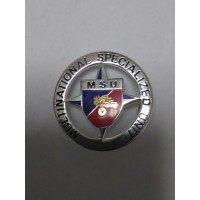 DISTINTIVO COMMEMORATIVO MISSIONE MILITARE ALL'ESTERO - MSU - METALLO SMALTATO