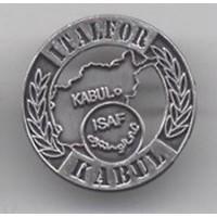 DISTINTIVO COMMEMORATIVO MISSIONE MILITARE ALL'ESTERO - KABUL ITALFOR-ISAF - METALLO