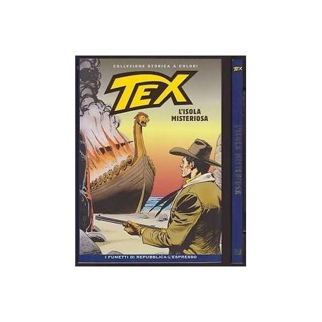 TEX COLLEZIONE STORICA A COLORI L'ISOLA MISTERIOSA EP.99
