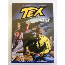 TEX COLLEZIONE STORICA A COLORI LA FINE DEL MALEFICIO EP.110