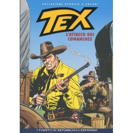 TEX COLLEZIONE STORICA A COLORI L'ATTACCO DEI COMANCHES EP.113