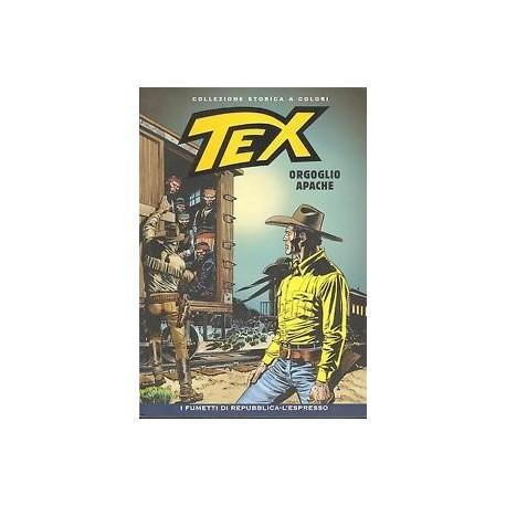 TEX COLLEZIONE STORICA A COLORI ORGOGLIO APACHE EP.116