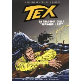 TEX COLLEZIONE STORICA A COLORI LA TRAGEDIA DELLA SHANGAY LADY EP.126