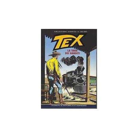 TEX COLLEZIONE STORICA A COLORI LA TANA DEI BANDITI EP.77