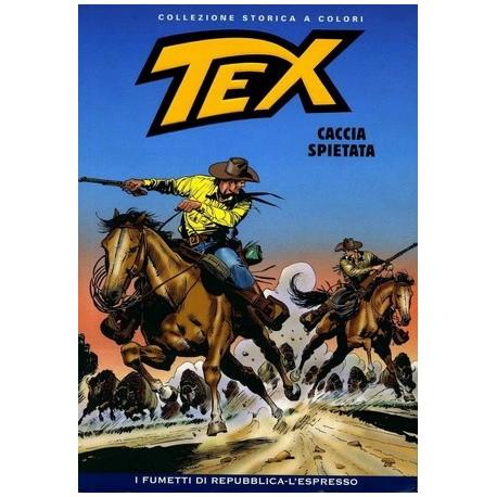 TEX COLLEZIONE STORICA A COLORI CACCIA SPIETATA EP.128