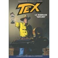 TEX COLLEZIONE STORICA A COLORI LA DIABOLICA GATLING EP.130