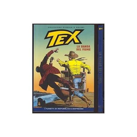 TEX COLLEZIONE STORICA A COLORI LA BANDA DEL FIUME EP.131