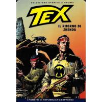 TEX COLLEZIONE STORICA A COLORI IL RITORNO DI ZHENDA EP.140
