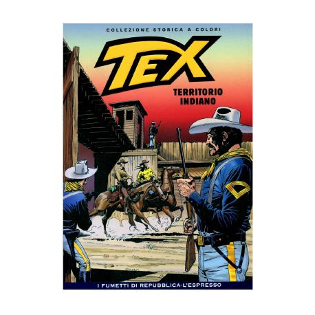 TEX COLLEZIONE STORICA A COLORI TERRITORIO INDIANO EP.145