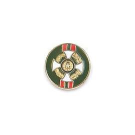 SPILLA CAVALIERE O.M.R.I. - PINS SMALTATO - DIAMETRO 1,1 cm