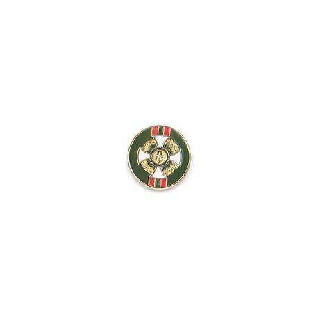 SPILLA CAVALIERE O.M.R.I. - PINS SMALTATO - DIAMETRO 1,5 cm