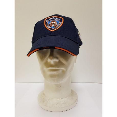 BERRETTO COTONE NYPD FOSTEX - COLORE BLU