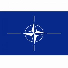 BANDIERA NATO - DIM. 1 x 1,5 mt - 100% POLIESTERE