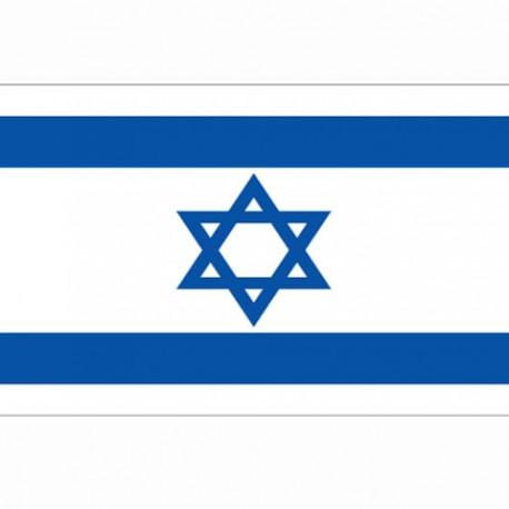 BANDIERA ISRAELE - DIM. 1 x 1,5 mt - 100% POLIESTERE