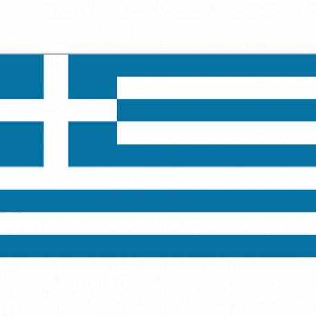 BANDIERA GRECIA - DIM. 1 x 1,5 MT - 100% POLIESTERE