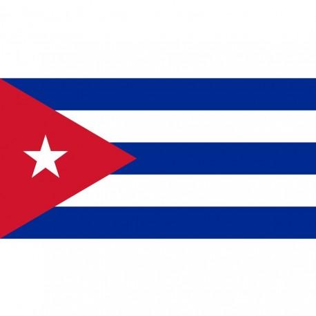 BANDIERA CUBA - DIM. 1 x 1,5 mt - 100% POLIESTERE