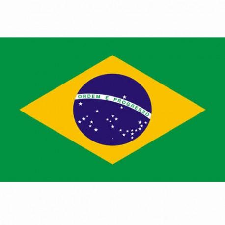 BANDIERA BRASILE - DIM- 1 x 1,5 mt - 100% POLIESTERE