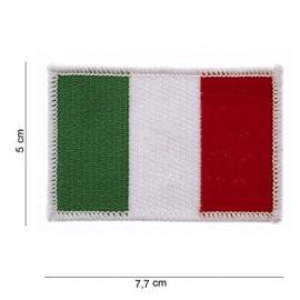 TOPPA PATCH BANDIERA ITALIA TERMOADESIVA - DIM. 7,7 x 5,0 cm