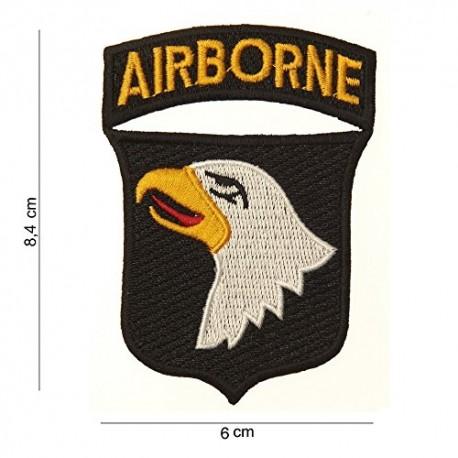 TOPPA PATCH MILITARE AIRBORNE TERMOADESIVA - DIM. 6,0 x 8,4 cm