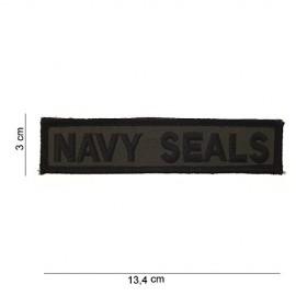 TOPPA PATCH MILITARE NAVY SEALS CON VELCRO - DIM. 13,4 x 3,0 cm
