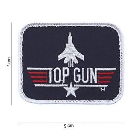 TOPPA PATCH MILITARE TOP GUN TERMOADESIVA - DIM. 9,0 x 7,0 cm