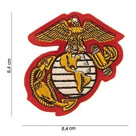 TOPPA PATCH MILITARE US MARINE CORPS TERMOADESIVA - DIM. 8,4 x 8,4 cm